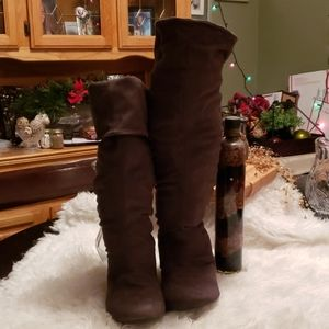 Report Tall Brown Boots Size 10